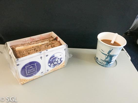 Sandwich del avion de KLM