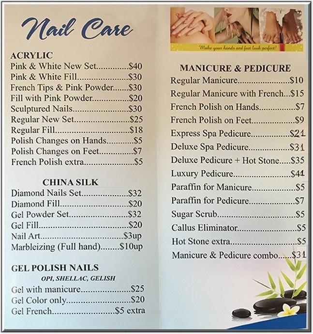 Paris Nails Prices