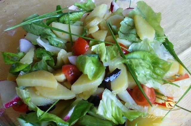 Reteta salata de post, preparare salata de post