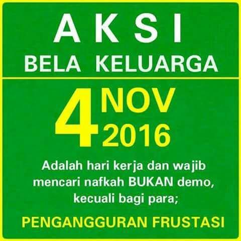 Meme Plesetan Aksi 4 November