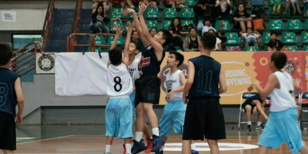 Tim Basket SD KK juara 3 Junio JRBL 2018 Solo Series