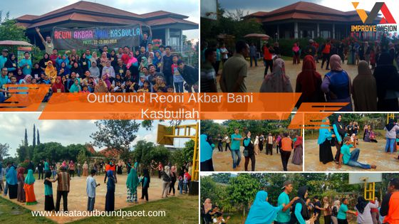 outbound reoni bani kasbullah villa agape wisata outbound pacet