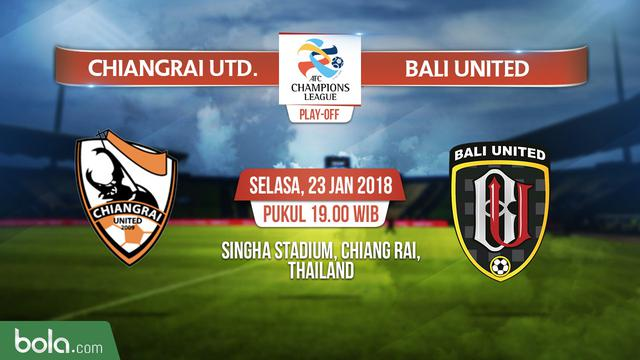 Live Streaming Chiang Rai United VS Bali United