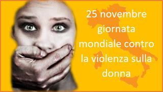 25 novembre Giornata Arancione contro la violenza sulla donna