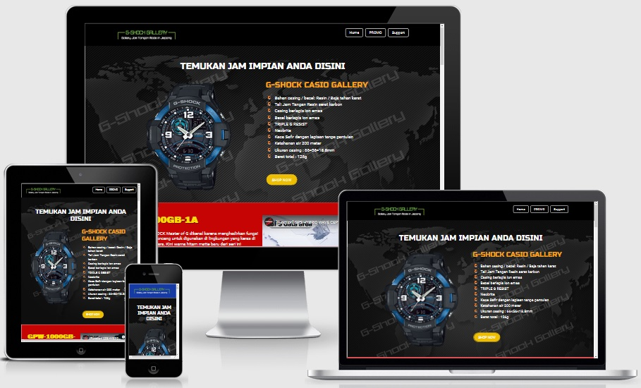 Golanding Blogspot Template Builder