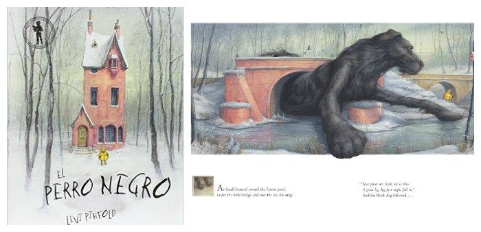 cuento infantil emocion miedo el perro negro levo Pinfold educacion emocional