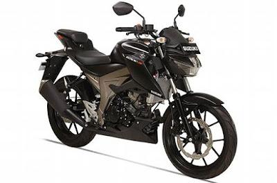 Suzuki GSX-S150 black pics