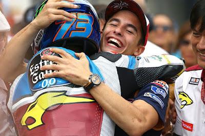 Marquez: Saya Hampir Menangis dengan Podium Alex