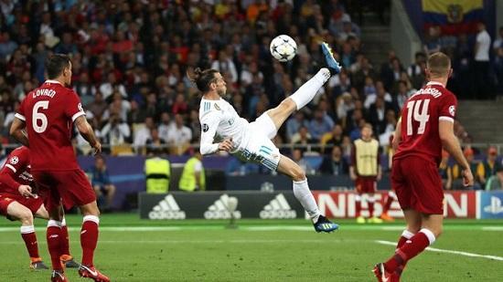 Siêu phẩm xe đạp chổng ngược của Gareth Bale