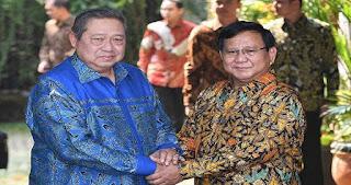 Resmi Berkoalisi, SBY : Pak Prabowo Calon Presiden Kita