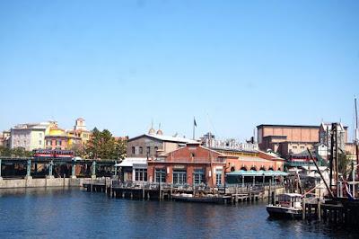 Fishing village of Cape Cod Tokyo Disneysea Japan
