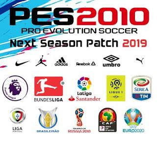 PES 2010 Next Season Patch 2019 Season 2018/2019