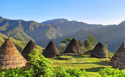 Keindahan Negeri di Atas Awan, Kampung Wae Rebo