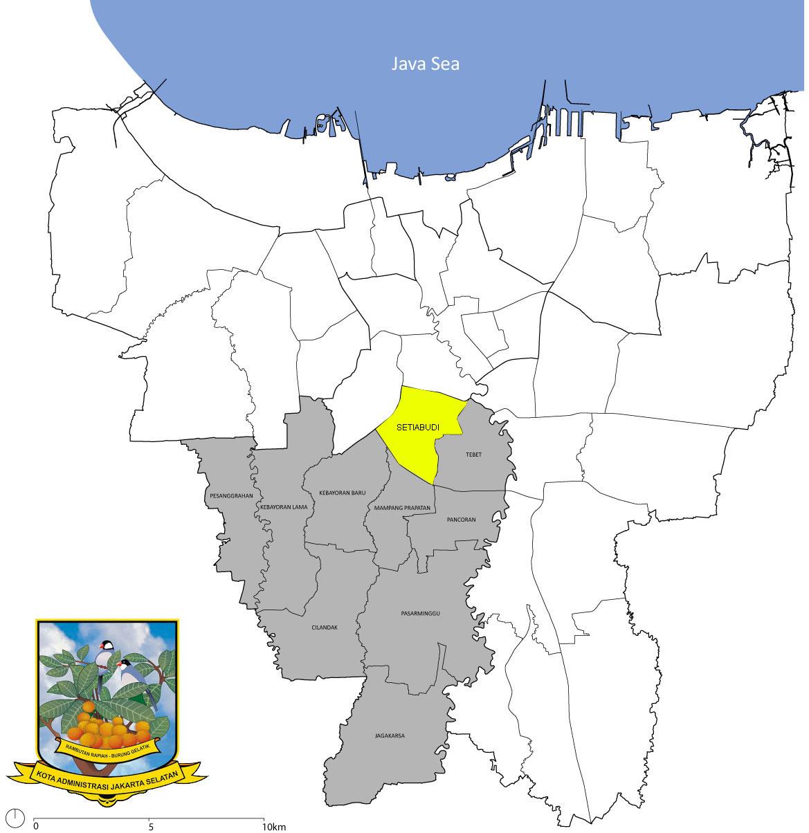 Kost Setiabudi Jakarta Selatan