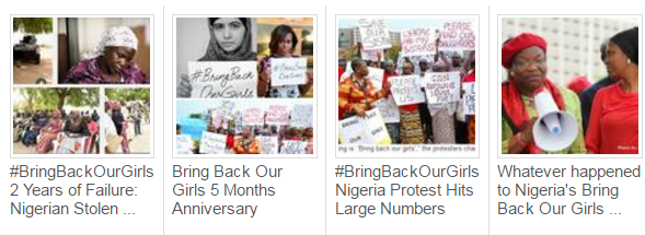 3 years #BringBackOurGirls: Nigerian stolen girls
