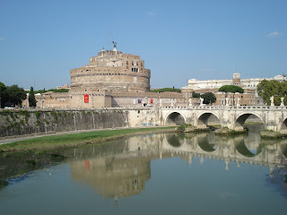Castel Sant' Angelo in Rome, which Rodrigo Borgia strengthened and restored