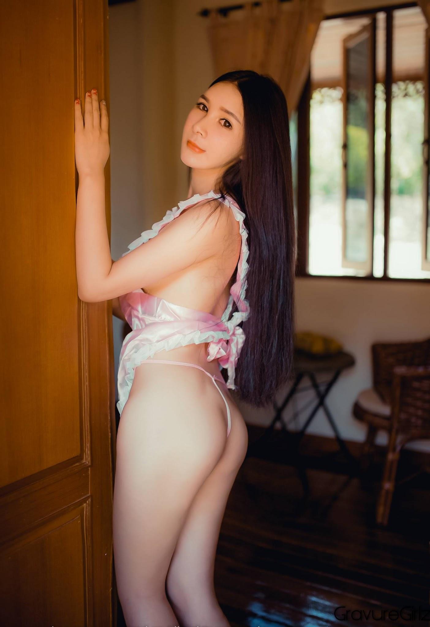 Gu Xinyi 顾欣怡 TGOD推女神 | Underboobs at Samui Island ...