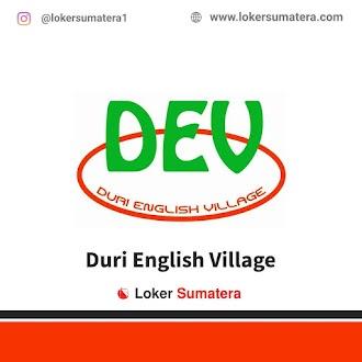 Lowongan Kerja Duri, Duri English Village Juni 2021