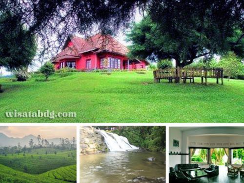 Villa Merah Sukawana Parongpong