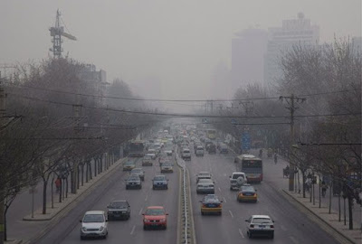 Emisiones contaminación China