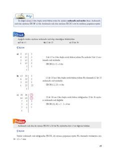 8. Sınıf Matematik Ekoyay Yayınları Sayfa 19