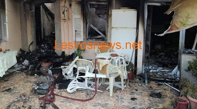 Τραγωδία στη Μυτιλήνη: Η μάνα δεν κατόρθωσε να σώσει τα παιδιά της από την φωτιά