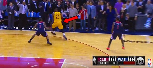 LeBron James Hits RIDICULOUS 3-pointer To Force OT (VIDEO)
