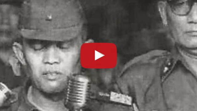 VIDEO: Pidato Jenderal Nasution Saat Pelepasan Jenazah Pahlawan Korban PKI Sungguh Menggetarkan
