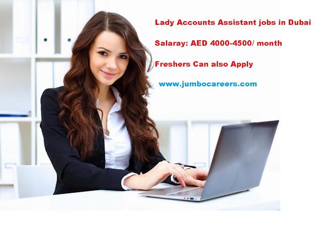 Accountant Jobs in Dubai, Female accountant jobs in dubai latest