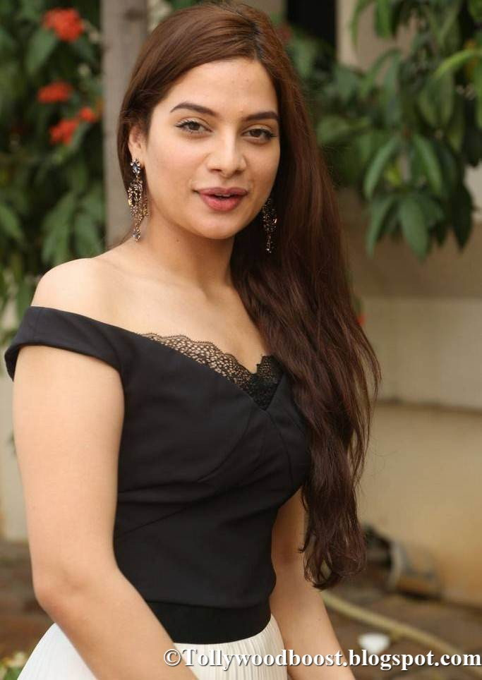 Telugu Girl Tanya Hope Stills At New Film Audio Launch