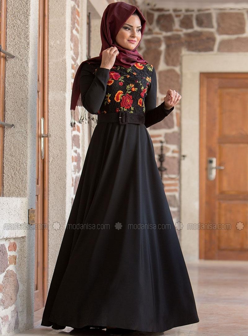 robe hijab turque fashion 2017 hijab chic turque style and fashion. Black Bedroom Furniture Sets. Home Design Ideas