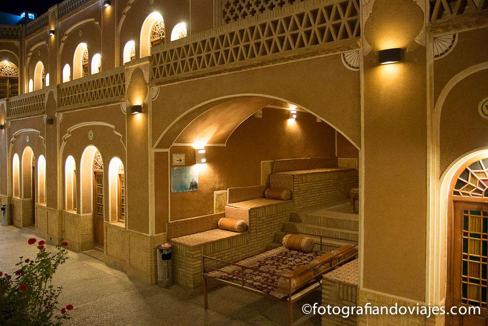 Alojamientos en Irán
