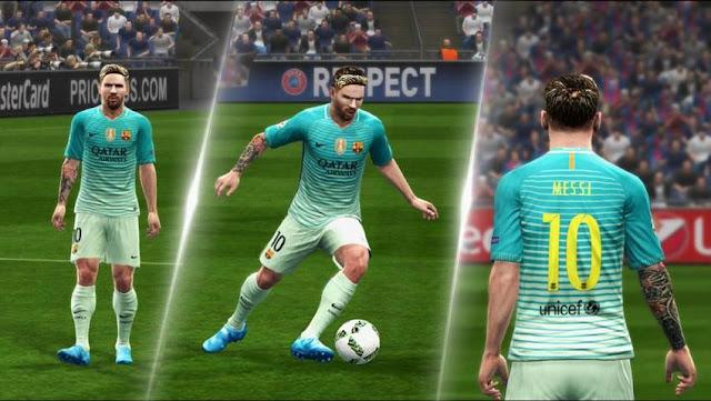 FC Barcelona Kit 2016-2017 Update v1.5 - PES 2013