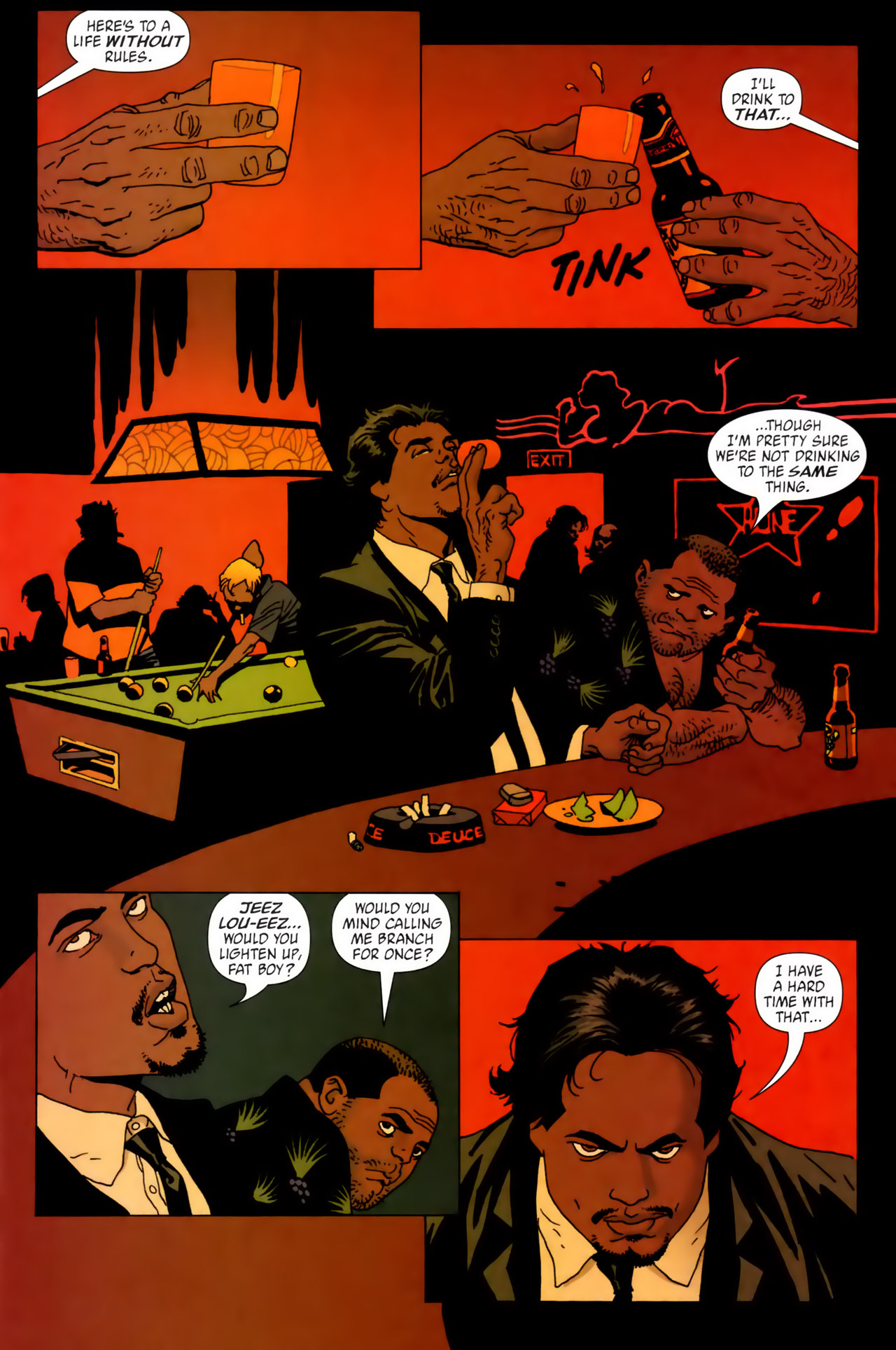 Read online 100 Bullets comic -  Issue #62 - 2