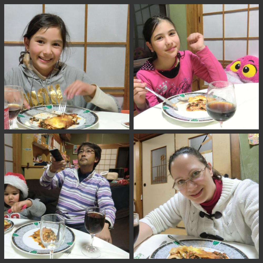 Yokomatsu Family Blog: Lena's Birthday Dinner