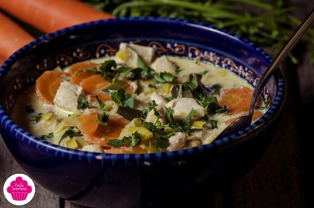 Waterzoï express - Blanc de dinde aux légumes dans son bouillon