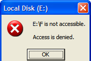 Cara Mengatasi Flashdisk is Not Accessible, Access is Denied