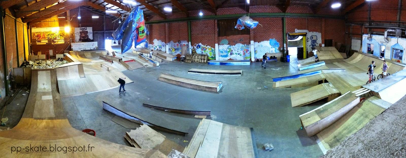 skatepark couvert truespin belgique