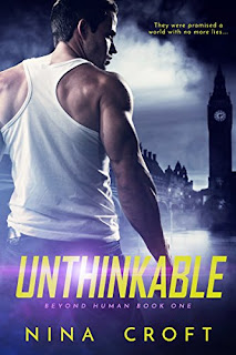 Unthinkable - a contemporary romance with a hint of sci-fi by Nina Croft