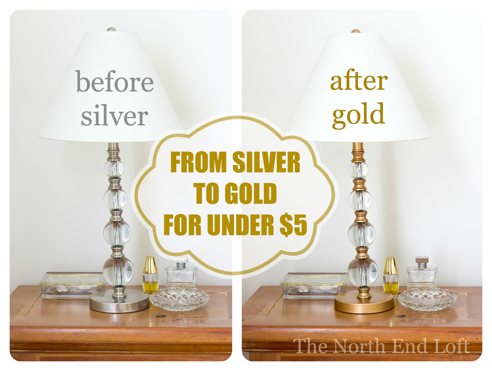The North End Loft Diy Gold Table Lamp
