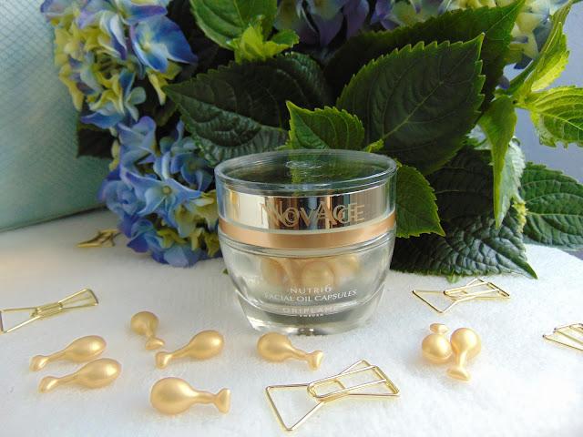 NovAge Nutri6 Facial Oil Capsules - Złote kapsułki z Oriflame
