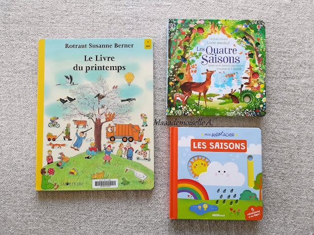 || Sélection de livres sur le printemps - Le livre du printemps - Les Quatre Saisons - Mon anim'agier Les saisons