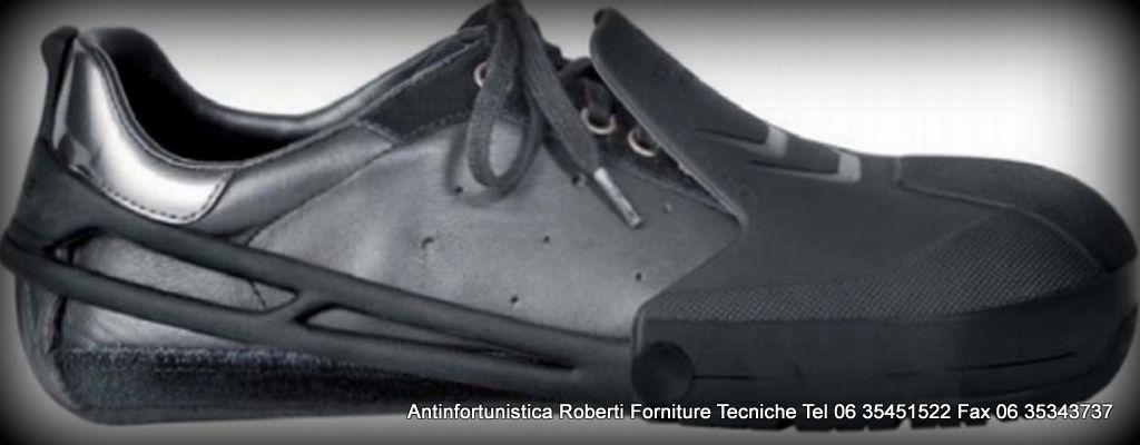 puntali acciaio da inserire sopra le calzature civili per renderle  protettive   puntale protettivo copriscarpe antinfortunistico per ingresso  aziende e ... c6022801f49