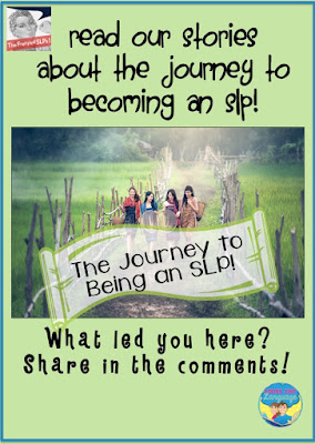 The journey to be an SLP- A Frenzied SLP Link-up- Looks-Like-Language