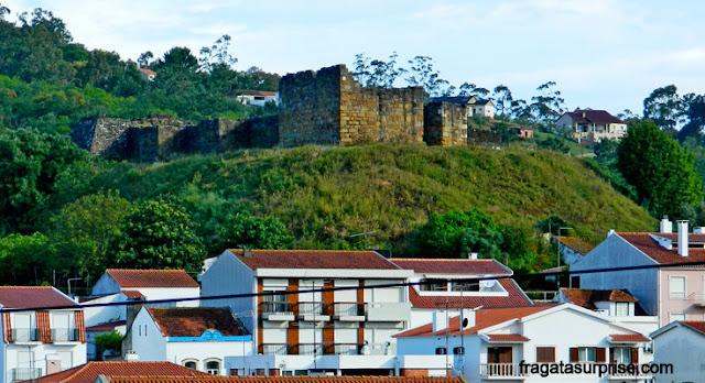Castelo Visigodo em Alcobaça, Portugal