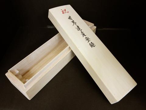 桐箱に印刷した事例
