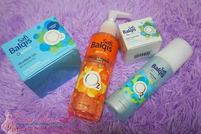 SAFI BALQIS OxyWhite skincare untuk rawatan laser