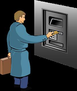 Gambar ilustrasi transaksi dengana kartu atm yang  baru diganti gagal