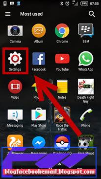 cara menghapus akun google android