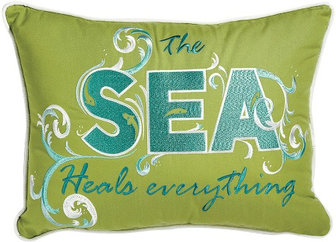 Sea Quote Pillow